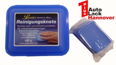 Reinigungsknete Magic Clean blau Knete 200g